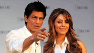 Shah Rukh Khan and Gauri Chibber
