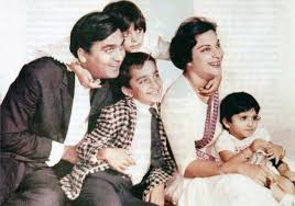 Sunil Dutt and Nargis