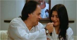 Farooq Sheikh and Rupa Jain