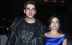 Zayed Khan and Malaika Parekh